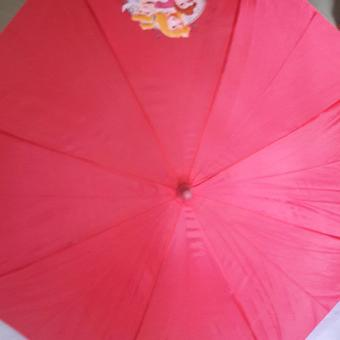 Kids umbrella Swan shape handle design with whistle color pink Price Philippines