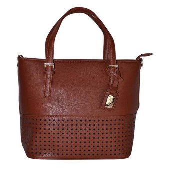 Kimbel HGZ13747 Handbag with Sling (Brown)