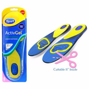 King's Gel Sport Shoe Insole Anti Callow and Smell Cuttable 11Inches for Women (Pair) Price Philippines