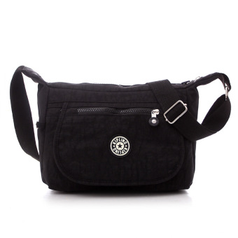 Kipling style fashion Crossbody Shoulder Bags Casual Daily BagsTravel Messenger Bags (black)