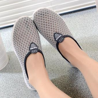 Korea Fashion Breathable Mesh Casual Sport Shoes - 5