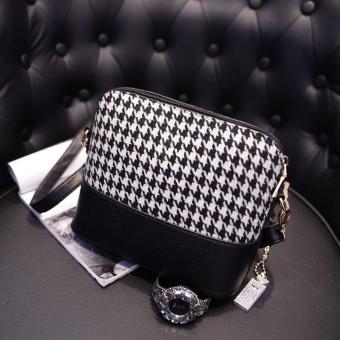 Korea Handbag New Canvas Bag (Black)