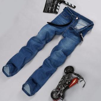 Korea New Face Look Men's Designer Jeans Casual Denim Mens PantFashion Trousers - intl - 3
