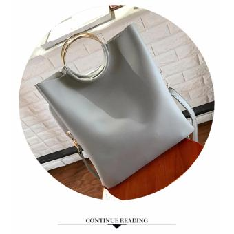 Korean Fashion Bag 2in1 (Gray) - 2