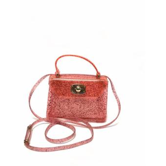 Korean Fashion Jelly Sling bag (pink) Price Philippines