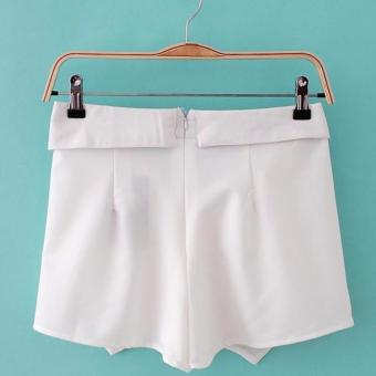Korean Origami Shorts Asymmetrical Shorts Fashion Shorts - 2