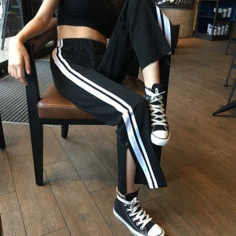 Korean-style autumn New style student women's pants casual sports pants