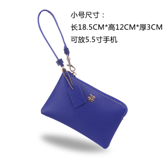Korean-style female small bag New style purse bag (Blue) (Blue)