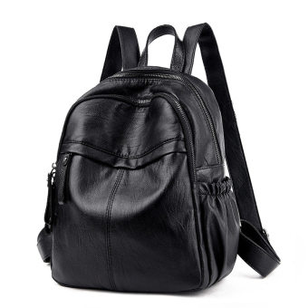 Korean-style leather female New style female backpack