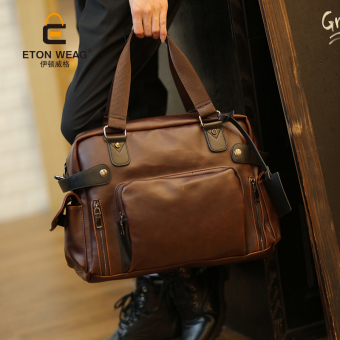 Korean-style men's file computer handbag New style men's bag