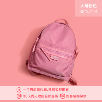 Korean-style New style nylon canvas travel Shinebager Oxford Cloth shoulder bag (Shishang powder large)