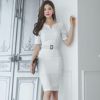 Korean-style New style Slim fit sheath dress