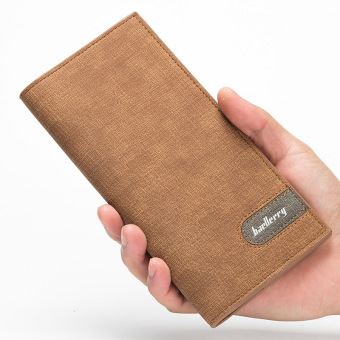 Korean-style ultra-thin wallet men's long wallet (PARK'S color)