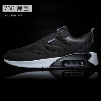 Korean-style winter Running Men's male shoes trendy shoes (768 black)