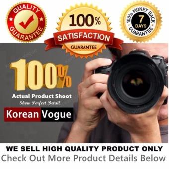 Korean Vogue KV8051 Mysterious Black Series Student Unique DoubleCompartment Style Nylon Casual Backpack Bag - 2