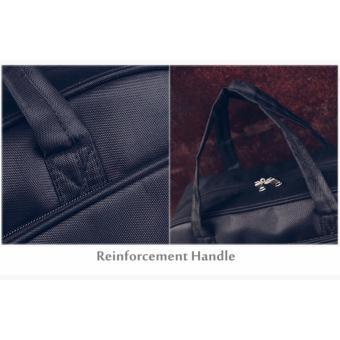 Korean Vogue TB-007 Premium Quality Women Large Capacity Big Eyes Tote Bag Series Ladies Travel Gym Sport Handbag Shoulder Bag(Black) - 5