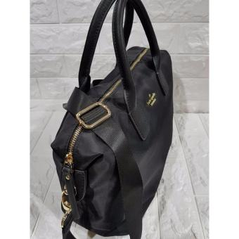 KS Lyla Nylon Tote Bag - Black - 5