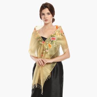 Kultura Rafaella Ladies Shawl (Gold)