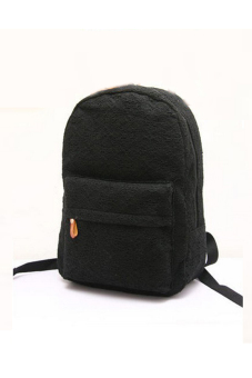 Lace Canvas Backpack (Black)