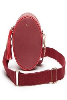Lacoste Mini LiVe Round Crossover Bag (Red)