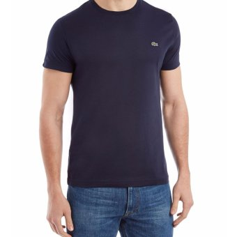 Lacoste T-shirt Round Neck for Men (NAVY BLUE)