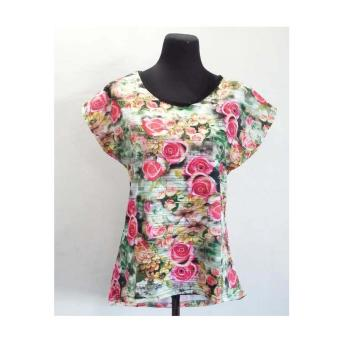 Ladies Blouse T-Shirt Multicolor_2(Int: One size)(OVERSEAS)