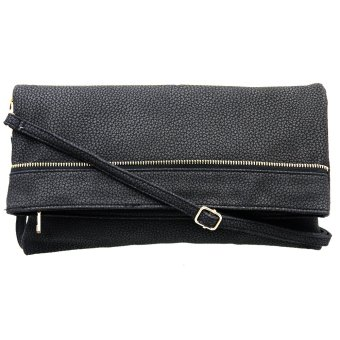 Ladies Leather Sling/Hand Bag 1560 (Black)