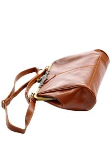 Lady Retro Shoulder Purse Handbag Cross Totes Bag Brown