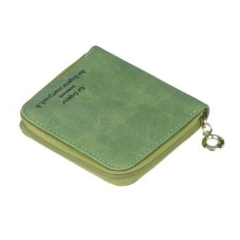 Lady Women Zipper Mini Purse Leather Wallet Credit Card Holder Bags Gift - intl - 3