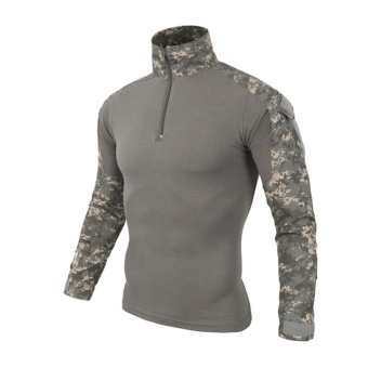 Lanbaosi Tactical Military Uniform Multicolor Comfort FROG AirsoftCombat Shirt - intl Price Philippines