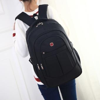 Laptop Backpack Men's Travel Bags 2017 Multifunction Rucksack Waterproof Oxford Black School Backpacks for Teenagers 15inch - intl - 3