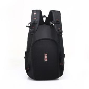 Laptop Backpack Men's Travel Bags 2017 Multifunction Rucksack Waterproof Oxford Black School Backpacks for Teenagers 15inch - intl - 5