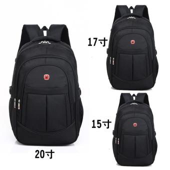 Laptop Backpack Men's Travel Bags 2017 Multifunction Rucksack Waterproof Oxford Black School Backpacks for Teenagers 15inch - intl - 4