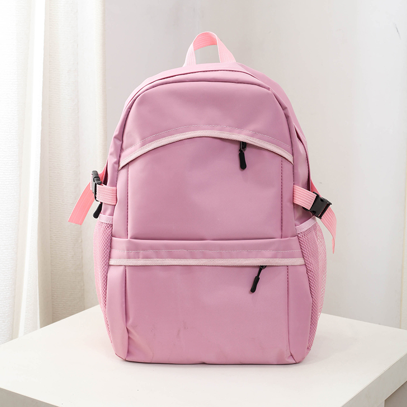 Large high college style canvas men Japanese and Korean Style High School Students school bag men's