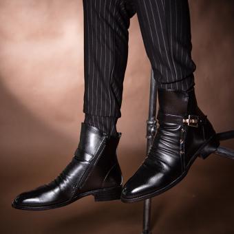 LBW Fashion Designer Pointed Boots(black) - Intl - 5