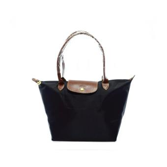 LC Le Pliage Large Long Handle Longchamp Free Twilly & CharmOriginal (Black) Made in France Price Philippines