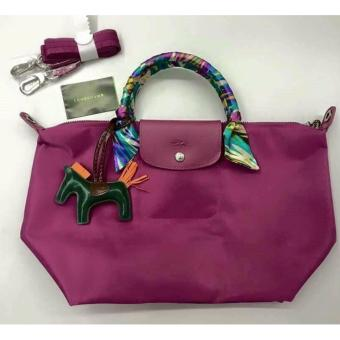 LC Le Pliage Neo Medium Free Twilly & Charm Original(HYDRANGEA) Made in France SHORT HANDLE Longchamp Price Philippines