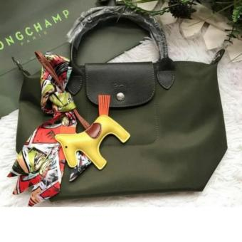LC Le Pliage Neo Small Free Twilly & Charm Original (ArmyGreen) Longchamp Made in France Price Philippines