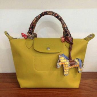 LC Le Pliage Neo Small Free Twilly & Charm Original (MUSTARDYELLOW) Made in France SHORT HANDLE Longchamp Price Philippines