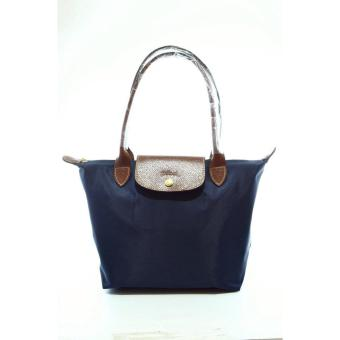 LC Le Pliage Small Long Handle Longchamp Free Twilly & CharmOriginal (Navy Blue) Made in France Price Philippines