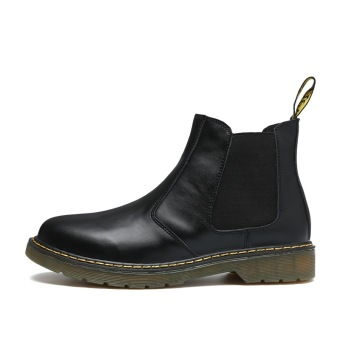 Leather autumn Plus-sized Dr. Martens (Black) Price Philippines