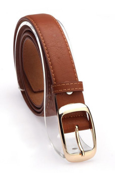 Leather Belts Strap Brown