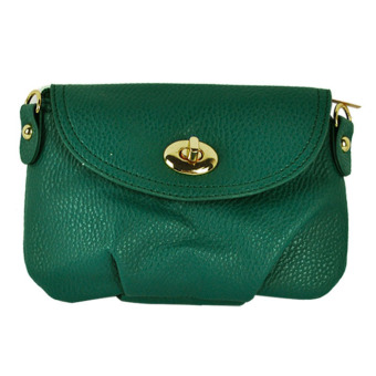 Leather Cross-body HandBags (Green) - picture 2