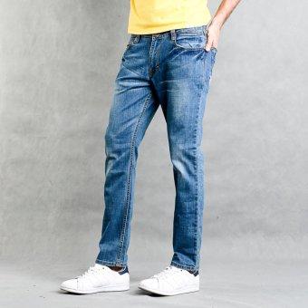 Lee Cooper Skinny Straight Pants (Blue)
