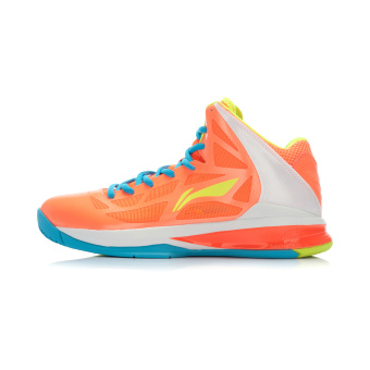 Li Ning abpj 033 sound damping wear and hight-top Basketball Athletic shoes basketball shoes