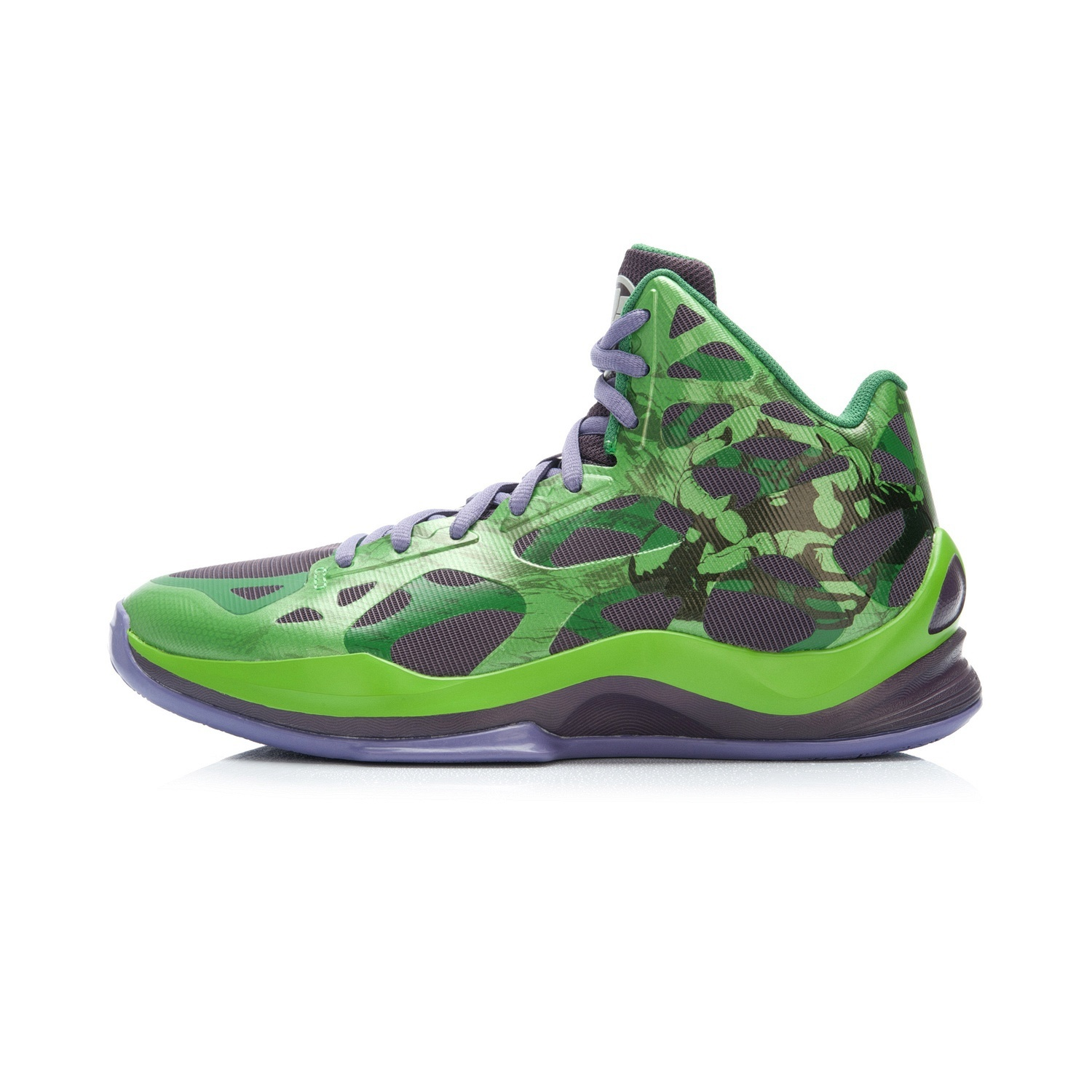 Li Ning Abpk 057 Sonic Hight Top Series E Shoes New Style Basketball