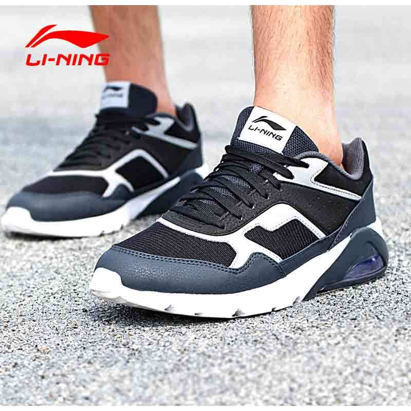Li Ning Arcl 039 Cushion New Style Damping Wear And Running Shoes Men S Black