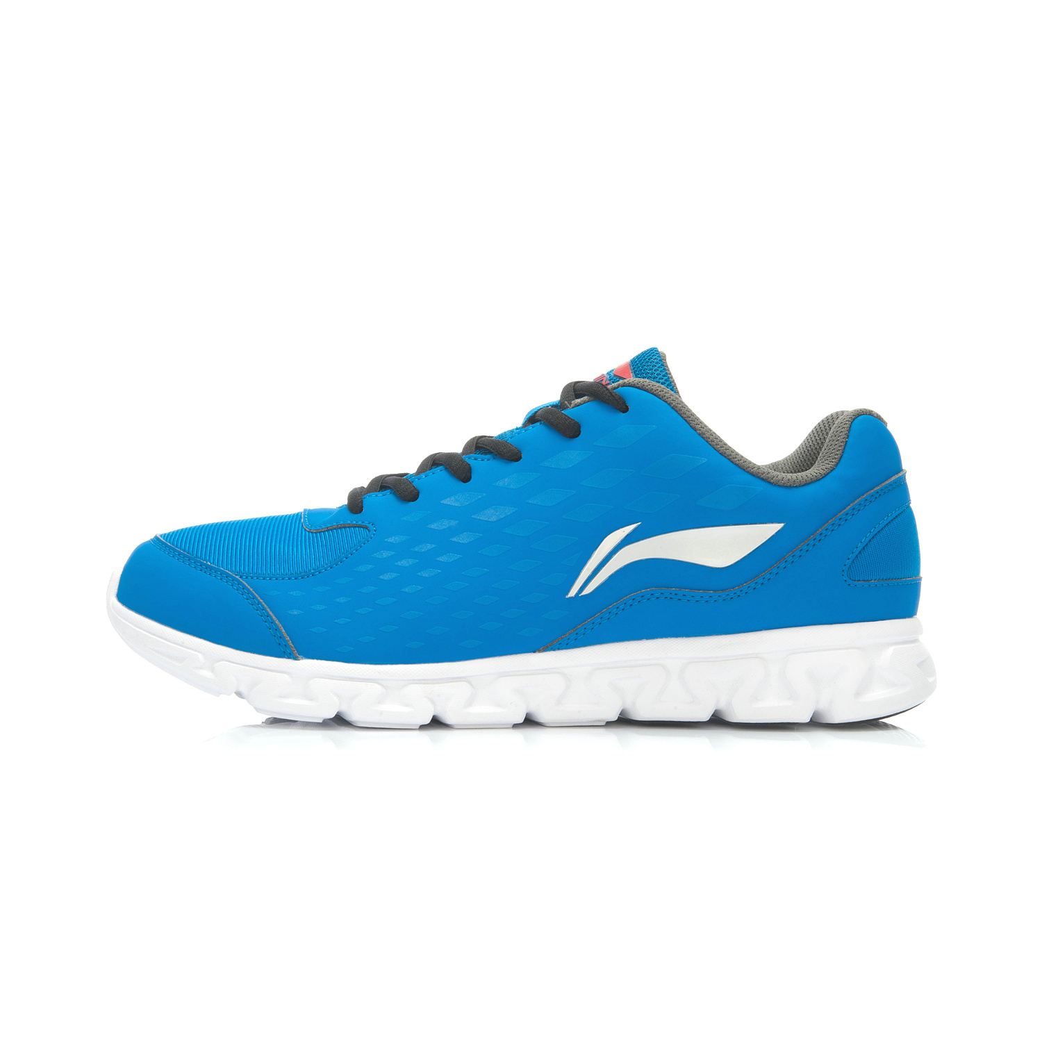Li Ning Arhj 077 Series Autumn Models Athletic Shoes Genuine Men S Deep E Blue