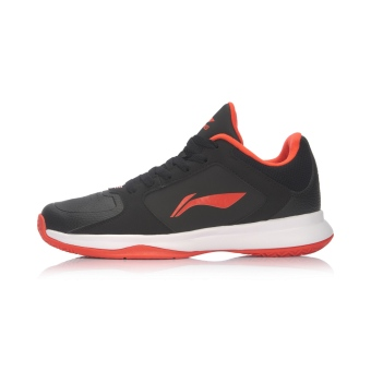 LI-NING basketball shoes men's shoes sports shoes (New basic black/LI-NING Hong)