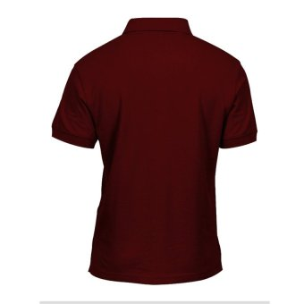 Lifeline Polo Shirt (Berry Red) - 3